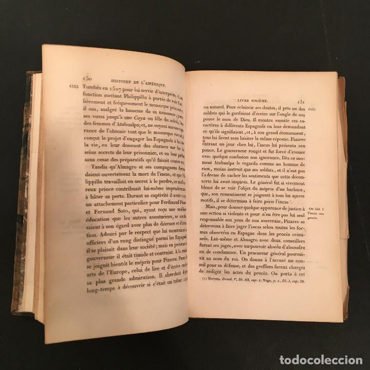 Libros antiguos: 1828 ENCUADERNACION ORIGINAL - MEXICO William ROBERTSON - Historie de l'Amérique - Historia America - Foto 38 - 74387623