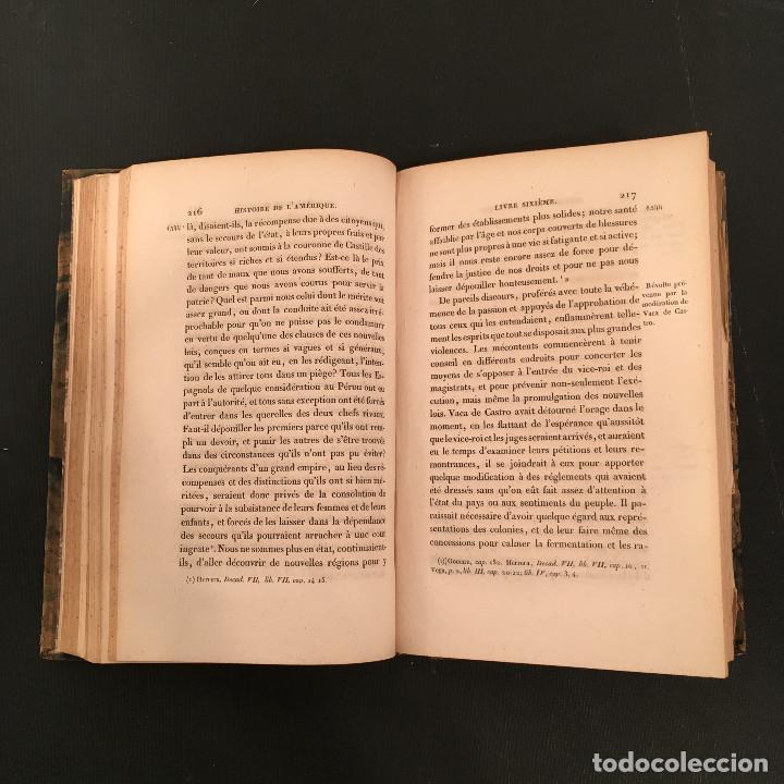 Libros antiguos: 1828 ENCUADERNACION ORIGINAL - MEXICO William ROBERTSON - Historie de l'Amérique - Historia America - Foto 39 - 74387623