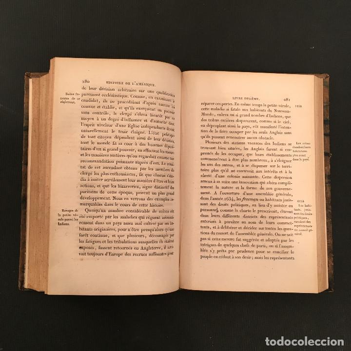 Libros antiguos: 1828 ENCUADERNACION ORIGINAL - MEXICO William ROBERTSON - Historie de l'Amérique - Historia America - Foto 54 - 74387623