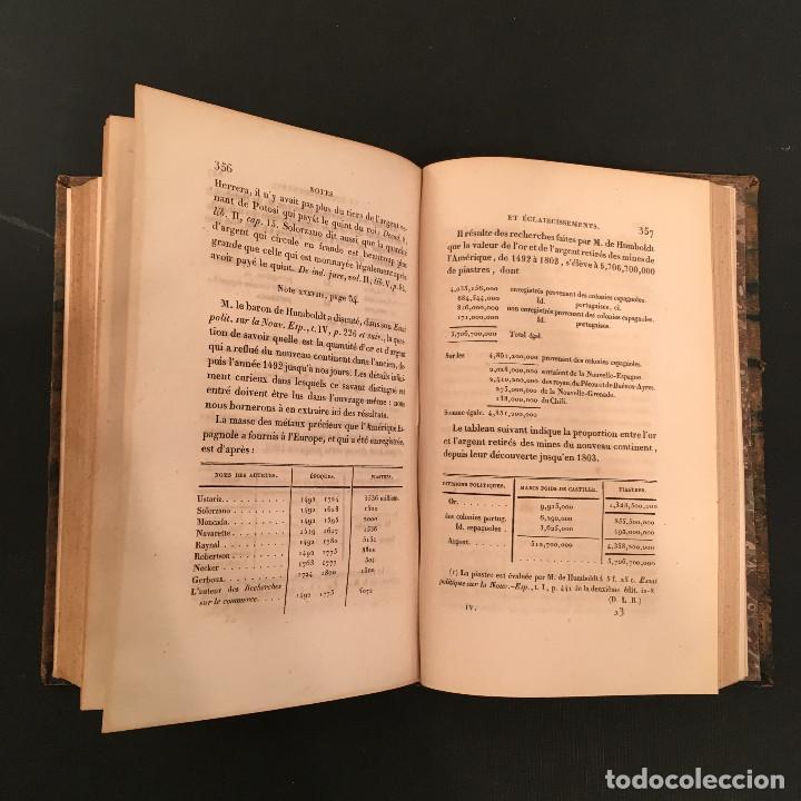 Libros antiguos: 1828 ENCUADERNACION ORIGINAL - MEXICO William ROBERTSON - Historie de l'Amérique - Historia America - Foto 55 - 74387623