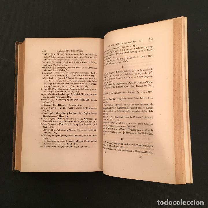 Libros antiguos: 1828 ENCUADERNACION ORIGINAL - MEXICO William ROBERTSON - Historie de l'Amérique - Historia America - Foto 57 - 74387623