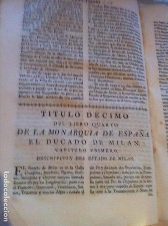 Libros antiguos: Monarquia de España de Pedro Salazar de Mendoza 2 Tomos Madrid 1770 - Foto 5 - 74572407