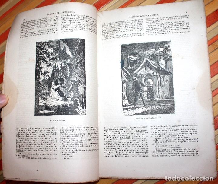 Libros antiguos: HISTORIA DE UN PLEBISCITO CONTADA POR UNO DE LOS 7.500.000 SÍ, 1885 ERCKMANN-CHATRIAN - Foto 5 - 76680071