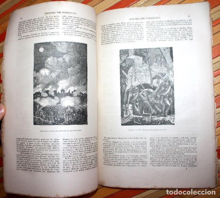 Libros antiguos: HISTORIA DE UN PLEBISCITO CONTADA POR UNO DE LOS 7.500.000 SÍ, 1885 ERCKMANN-CHATRIAN - Foto 8 - 76680071