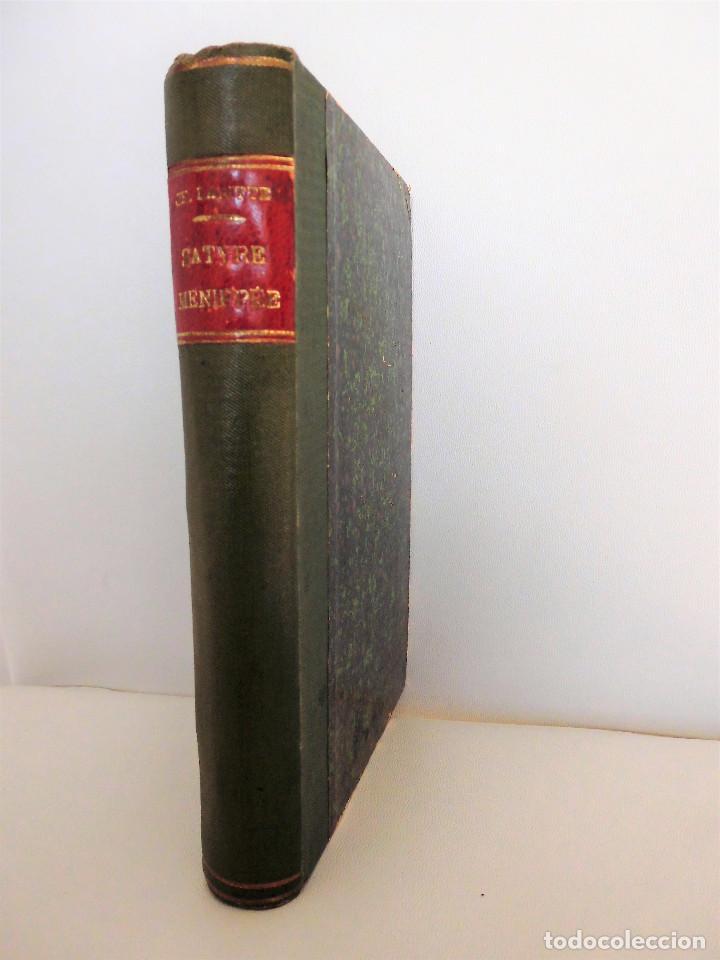 SÁTIRA MENIPEA O DE LA VIRTUD DEL CATÓLICO DE ESPAÑA (1874). LIBRO SATÍRICO, OBRA COLECTIVA. (Libros antiguos (hasta 1936), raros y curiosos - Historia Moderna)