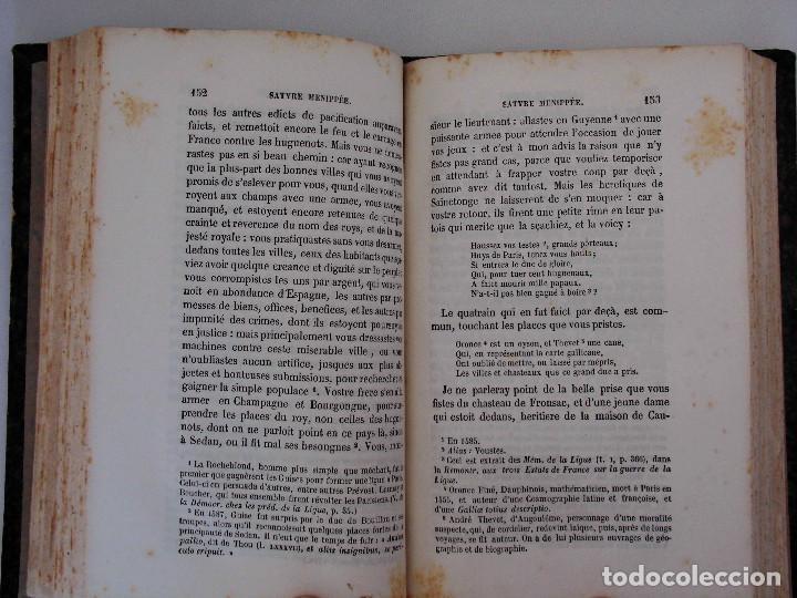 Libros antiguos: SÁTIRA MENIPEA O DE LA VIRTUD DEL CATÓLICO DE ESPAÑA (1874). LIBRO SATÍRICO, OBRA COLECTIVA. - Foto 4 - 76763031