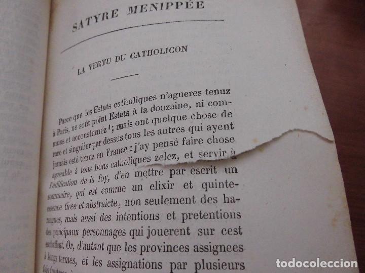 Libros antiguos: SÁTIRA MENIPEA O DE LA VIRTUD DEL CATÓLICO DE ESPAÑA (1874). LIBRO SATÍRICO, OBRA COLECTIVA. - Foto 6 - 76763031