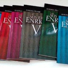Libros antiguos: LAS SEIS ESPOSAS DE ENRIQUE VIII, ANTONIA FRASER, COLECCION DE 10 TOMOS, REVISTA TIEMPO, LIBROS 2011. Lote 77928989