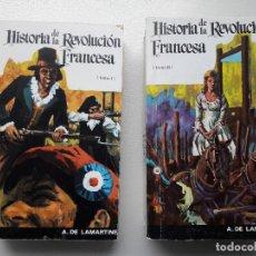 Libros antiguos: HISTORIA DE LA REVOLUCION FRANCESA. LAMARTINE. ED. SOPENA, 1978. ENVIO 3.99€. Lote 78185461