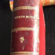 Libros antiguos: NUEVO MUNDO - 1906 - AJUAR DE LA INFANTA MARIA TERESA DE BORBON Y SU BODA, MARRUECOS. Lote 78457789