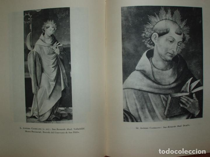 Libros antiguos: ICONOGRAFIA ESPAÑOLA DE SAN BERNARDO, RAFAEL M. DURÁN. 1953. 100 LAMINAS. - Foto 4 - 79054957
