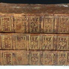 Libros antiguos: HISTOIRE DES JUIFS. JOSEPH FLAVIUS. 3 TOMOS(VER DESCRIPCIÓN). EDIT. HENRY. 1772/1773.. Lote 79103073