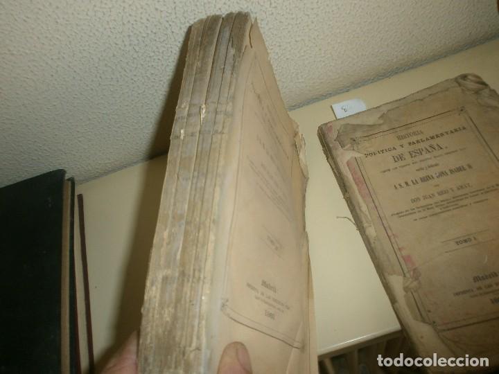 Libros antiguos: Historia Politica y parlamentaria de España desde los tiempos más remotos hasta nuestros días 1860 - Foto 2 - 85416952