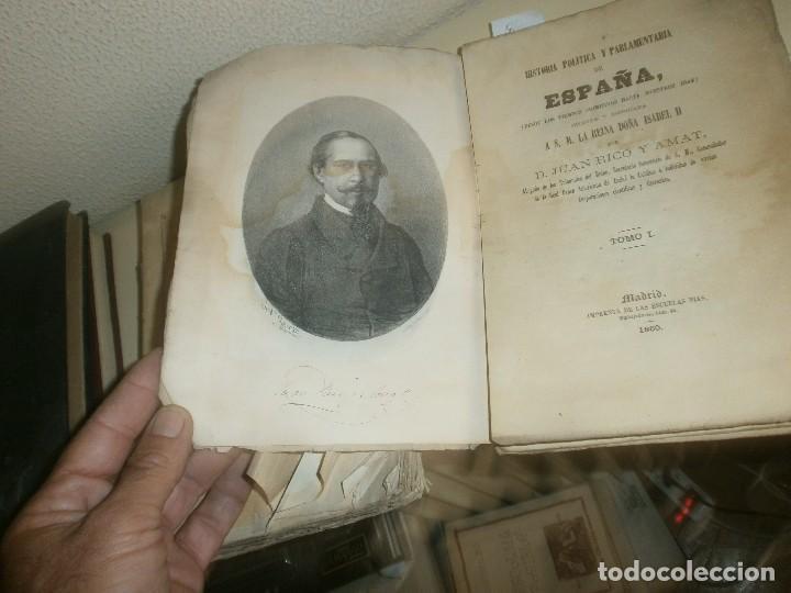 Libros antiguos: Historia Politica y parlamentaria de España desde los tiempos más remotos hasta nuestros días 1860 - Foto 4 - 85416952