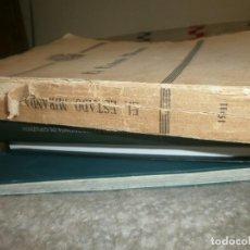 Libros antiguos: EL ESTADO MIRANDA FRANCISCO DE P. ALAMO 1911 PUBLICACIÓN ORDENADA POR EL GOBIERNO ESTADO DE MIRANDA. Lote 85419676