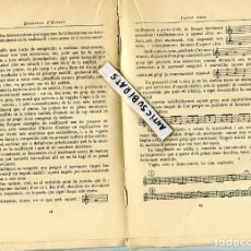 Libros antiguos: 1920 LA MUSICALITAT MUSICA JOSEP BARBERA POMPEU FABRA . Lote 85489492