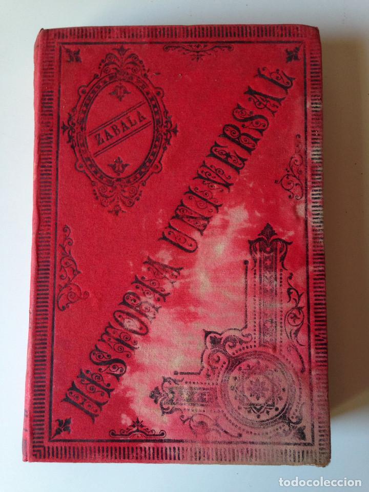 COMPENDIO DE HISTORIA UNIVERSAL (MANUEL ZABALA URDANIZ) VALENCIA 1893 (Libros antiguos (hasta 1936), raros y curiosos - Historia Moderna)