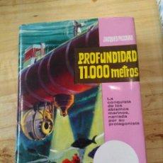 Libros antiguos: PROFUNDIDAD 11.000 METROS DE JACQUES PICCARD. Lote 85844652