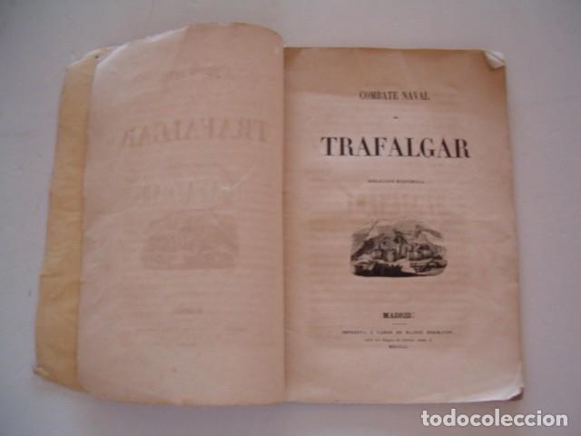 Libros antiguos: Combate Naval de Trafalgar. RM80911. - Foto 3 - 86822288