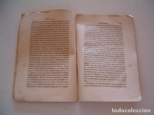 Libros antiguos: Combate Naval de Trafalgar. RM80911. - Foto 5 - 86822288