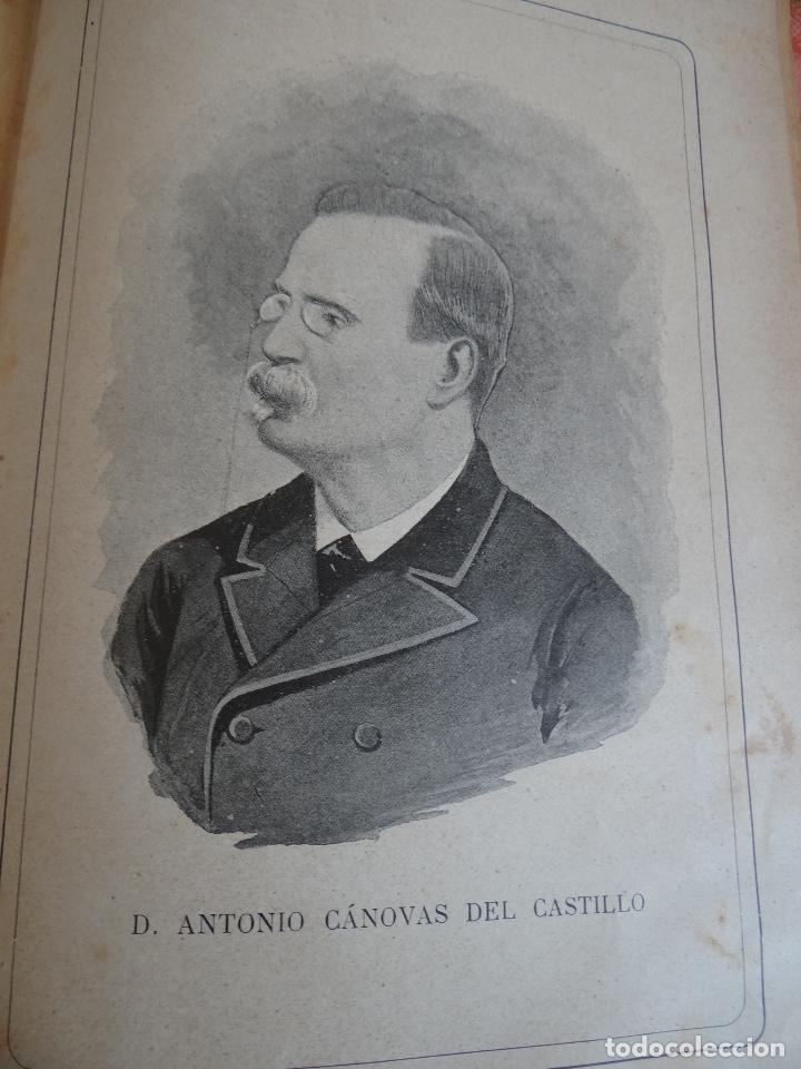 Libros antiguos: HISTORIA CRÍTICA DE LA RESTAURACIÓN BORBÓNICA EN ESPAÑA. NOGUES. 1895-1897. 3 TOMOS. COMPLETA - Foto 7 - 87010004