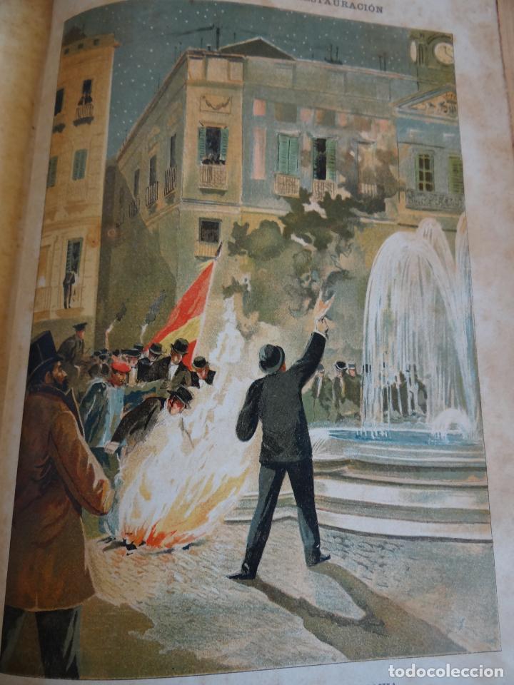 Libros antiguos: HISTORIA CRÍTICA DE LA RESTAURACIÓN BORBÓNICA EN ESPAÑA. NOGUES. 1895-1897. 3 TOMOS. COMPLETA - Foto 13 - 87010004