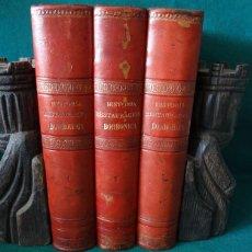 Libros antiguos: HISTORIA CRÍTICA DE LA RESTAURACIÓN BORBÓNICA EN ESPAÑA. NOGUES. 1895-1897. 3 TOMOS. COMPLETA. Lote 87090452
