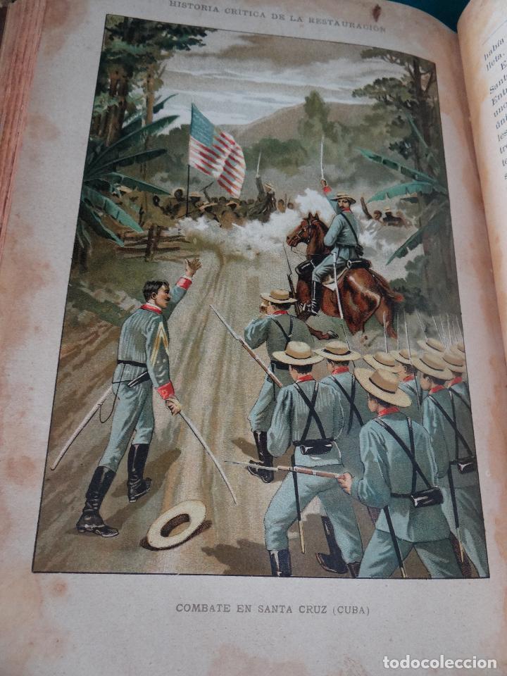 Libros antiguos: HISTORIA CRÍTICA DE LA RESTAURACIÓN BORBÓNICA EN ESPAÑA. NOGUES. 1895-1897. 3 TOMOS. COMPLETA - Foto 5 - 87090452