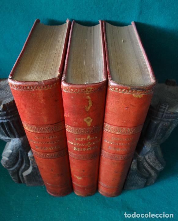 Libros antiguos: HISTORIA CRÍTICA DE LA RESTAURACIÓN BORBÓNICA EN ESPAÑA. NOGUES. 1895-1897. 3 TOMOS. COMPLETA - Foto 6 - 87090452