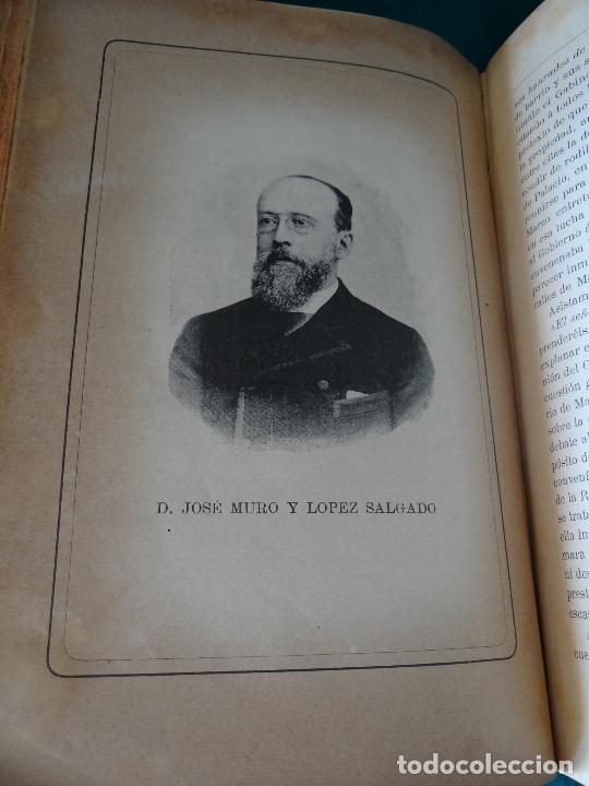 Libros antiguos: HISTORIA CRÍTICA DE LA RESTAURACIÓN BORBÓNICA EN ESPAÑA. NOGUES. 1895-1897. 3 TOMOS. COMPLETA - Foto 7 - 87090452