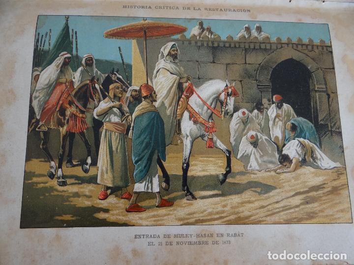 Libros antiguos: HISTORIA CRÍTICA DE LA RESTAURACIÓN BORBÓNICA EN ESPAÑA. NOGUES. 1895-1897. 3 TOMOS. COMPLETA - Foto 8 - 87090452