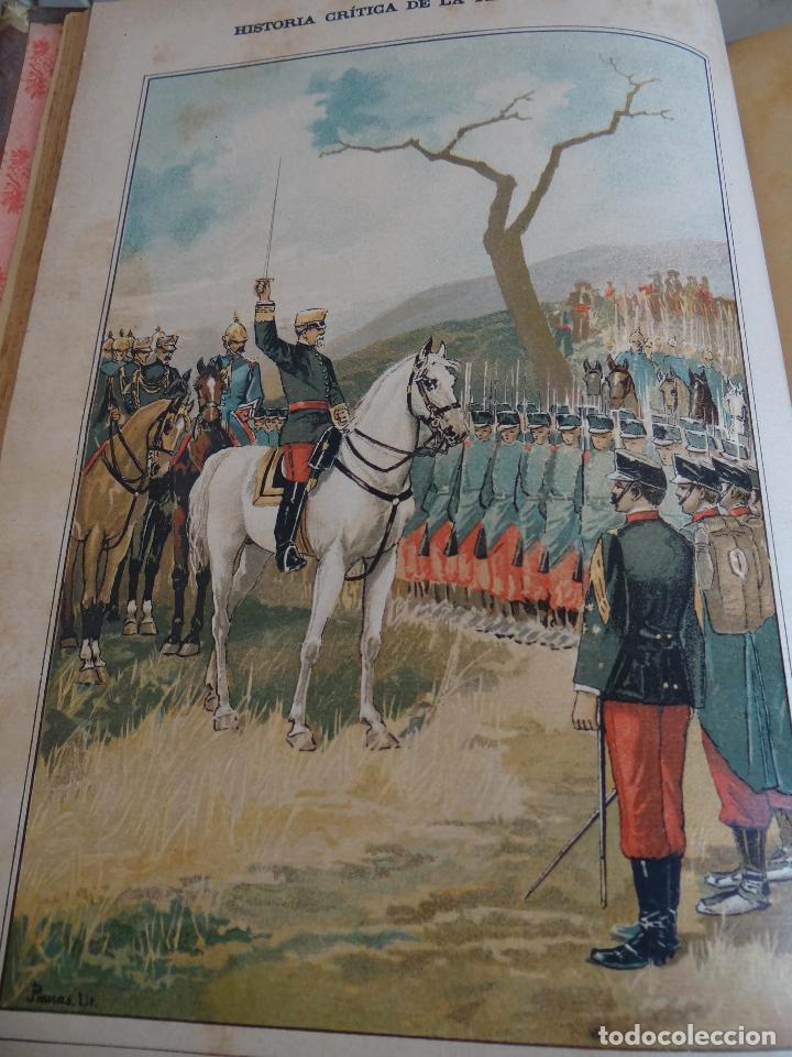 Libros antiguos: HISTORIA CRÍTICA DE LA RESTAURACIÓN BORBÓNICA EN ESPAÑA. NOGUES. 1895-1897. 3 TOMOS. COMPLETA - Foto 10 - 87090452