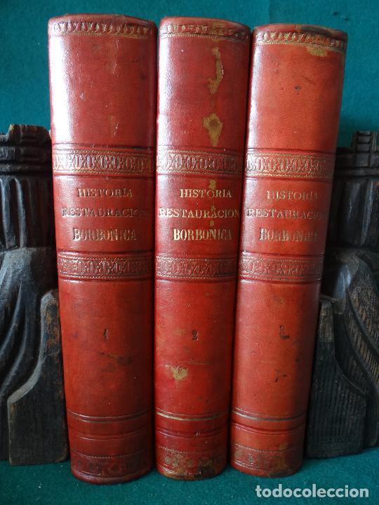 Libros antiguos: HISTORIA CRÍTICA DE LA RESTAURACIÓN BORBÓNICA EN ESPAÑA. NOGUES. 1895-1897. 3 TOMOS. COMPLETA - Foto 20 - 87090452