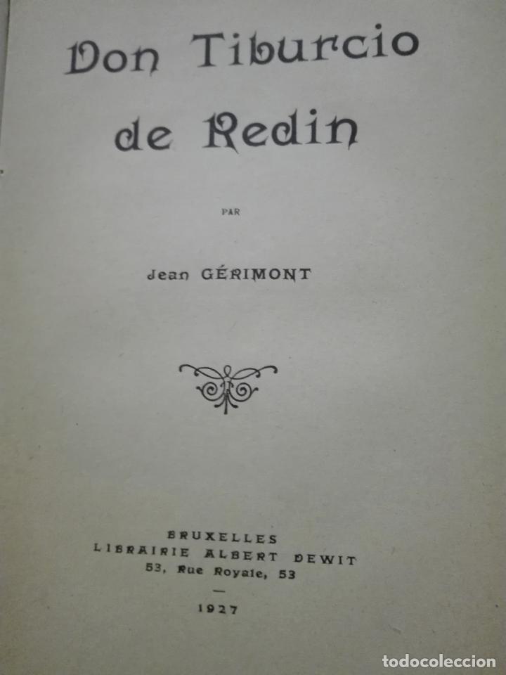Libros antiguos: Don Tiburcio de Redín. 1927. Ilustrado a mano - Foto 2 - 87570524