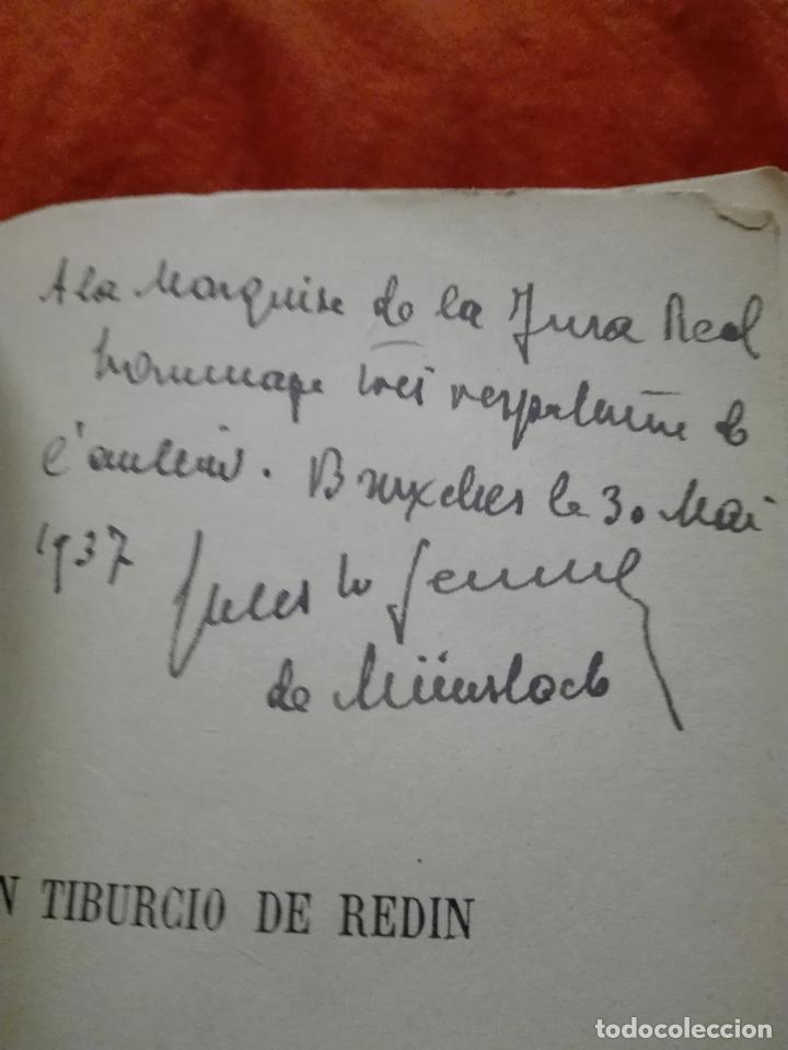Libros antiguos: Don Tiburcio de Redín. 1927. Ilustrado a mano - Foto 3 - 87570524