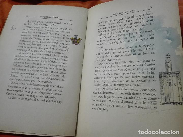 Libros antiguos: Don Tiburcio de Redín. 1927. Ilustrado a mano - Foto 7 - 87570524