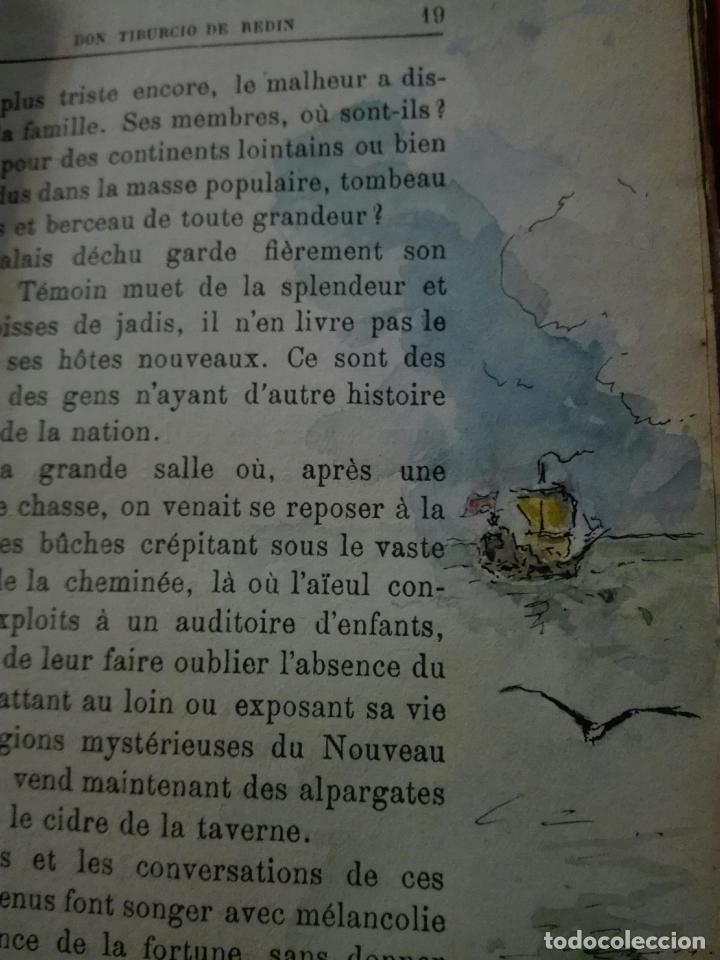 Libros antiguos: Don Tiburcio de Redín. 1927. Ilustrado a mano - Foto 10 - 87570524