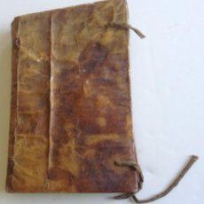 Libros antiguos: PUIGCERDA 1850 * HISTORIA I MIRACLES DE NOSTRA SENYORA DE NURIA * EN CATALAN * 247 PGS PERGAMINO. Lote 87631956