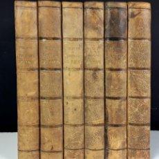Libros antiguos: HISTOIRE DES ENVIRONS DE PARÍS. 6 TOMOS. J. A. DULAURE. LIBRAIRES FURNE ET CIE. 1838.. Lote 89982144