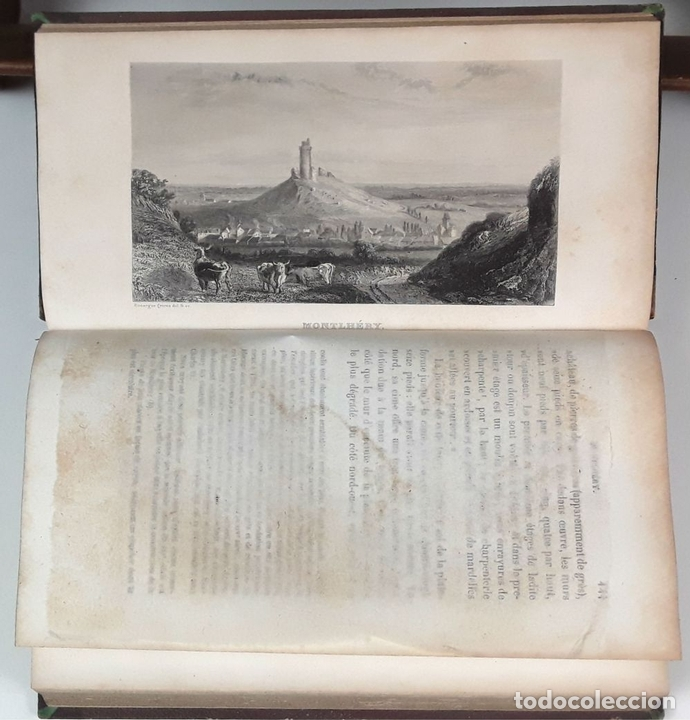 Libros antiguos: HISTOIRE DES ENVIRONS DE PARÍS. 6 TOMOS. J. A. DULAURE. LIBRAIRES FURNE ET CIE. 1838. - Foto 6 - 89982144