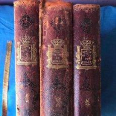 Libros antiguos: HISTORIA GENERAL DE ESPAÑA - MIGUEL MORAYTA - 1887 - 3 TOMOS. Lote 90449064
