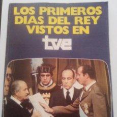 Alte Bücher - Los primeros dias del Rey vistos en TVE - 94405510