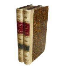 Libros antiguos: 1855 - 1ª EDICIÓN - ALPHONSE DE LAMARTINE - HISTORIA DE RUSIA - HISTOIRE DE LA RUSIE - PERGAMINO . Lote 94782683