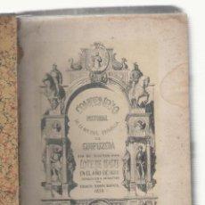 Libros antiguos: NUMULITE L0602 COMPENDIO HISTORIAL DE LA M.N.YML. PROVINCIA DE GUIPÚZCOA LOPE DE ISASTI 1850 BAJORA. Lote 94857515