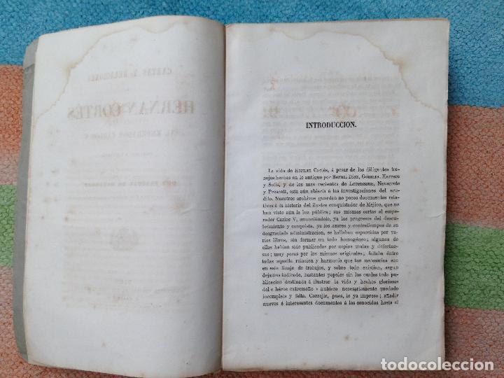 Libros antiguos: cartas y relaciones de hernan cortes a carlos V Imprenta General de los Ferro-Carriles, Paris 1866 - Foto 4 - 94938959