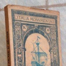 Libros antiguos: 1914 LOS PALACIOS DE GENOVA * ITALIA * 64 FOTOGRAFÍAS A TODA PAGINA. Lote 95398831