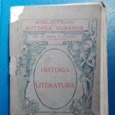 Libros antiguos: BIBLIOTECA DE AUTORES CUBANOS JOSÉ DE ARMAS Y CÁRDENAS DEDICATORIA DEL AUTOR LA HABANA 1915. Lote 95999723