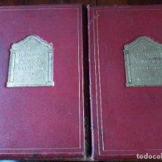 Libros antiguos: LA REVOLUCIÓN EMANCIPADORA URUGUAYA. 2 VOLS. EN PAPEL JAPÓN NACRÉ. MUY RARO. SOLO 10 IMPRESOS (1932). Lote 96772755