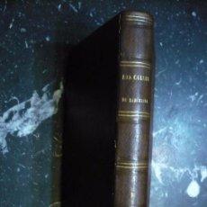 Libros antiguos: LAS CALLES DE BARCELONA VICTOR BALAGUER 1865 BARCELONA TOMO I. Lote 97408971