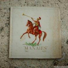 Libros antiguos: MANAIES 1940-1950 GERONA. Lote 98546055
